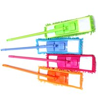 Wholesale Retail Household Cleaning Tools Scalable degree rotation removable microfiber chenille duster Mop