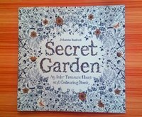Wholesale Top Selling Adult Secret Garden An Inky Treasure Hunt and Coloring Books cm Pages Secret Garden Releve Kill Time Books