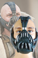 bane mask adult - Batman The Dark Knight Rises Bane Dorrance Mask Adult Men women Cosplay Prop Costume Helmet