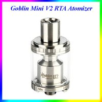metal o rings - UD Goblin Mini V2 RTA Tank with Rubber O rings Pyrex Extra Glass Tube Clearomizer Kit VS UD Bellus Tank
