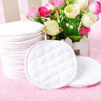 Wholesale 3Layers Washable Breast Pads Reusable Nursing PURE COTTON Breastfeeding Pad L00088 BARD