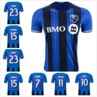 Wholesale Montreal Impact Soccer Jersey Home Blue CIMAN DROGBA MLS football Shirt Soccer Jersey