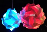 Wholesale 30CM DIY Modern Pendant Ball novel iq lamp puzzle pendants