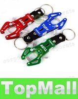 Wholesale LAI Top quality Tiger Hook Tool With Ring Carabiner Clip Hiking Climbing Tool Key