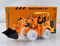 Wholesale 2016 hot sell bigger remote controlDigging excavatorcar toys Remote off road vehicles with LED for boys