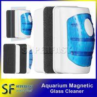 aquarium fish bags - Magnetic Aquarium Fish Tank Glass Algae Scraper Cleaner Floating Clean Brush Clean Scrubber Cleaning Tools for m Fishbowl Retail Bag