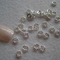 Wholesale MD D bag Silver Circle Nail Decoration Metal Shinny Deco Metal Nail Art Decoration nail art decoration