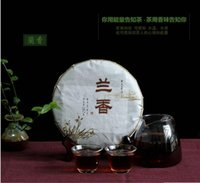 aged tea leaves - China Yunnan Chang Yun tea leaves flavor type seven cake tea Pu er tea cooked tea cake aged g