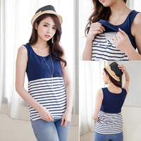 Wholesale New Nursing clothing Maternity Clothes Maternity Tops Tanks nursing tank top pregnancy clothes breastfeeding clothes for Pregnant Women