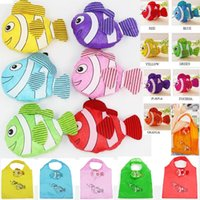 animal handle bag - mic New Colors Tropical Fish Foldable Eco Reusable Shopping Bags cm x58cm Bags Luggages Accessories