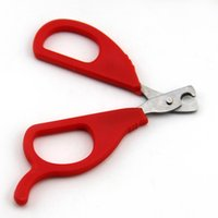 Wholesale Pet Dog Cat Scissors Shape Grooming Nail Clipper retail ZD049A