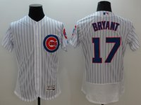 Wholesale New Flexbase Baseball Jerseys Cubs Bryant Jersey White Color Size Mix Order All Polyester Flexbase Jersey