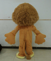Wholesale Madagascar Lion Alex Mascot Costume Animal Mascot adult Costume