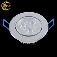 Wholesale downlight led W W Dimmable Ceiling lamp AC85 V White Warm white surface mounted led downlight Aluminum Heat Sink convenience lamp