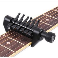 Wholesale 1PC high quality original Flanger FA BLACK Flanger Flexicapo Portable Alternative Tunig Capo for guitar