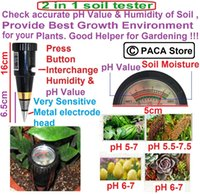 Wholesale Portable High Precision Garden Plant Soil PH Meter Moisture Tester Sensor Perfect Good Helper No need to use battery