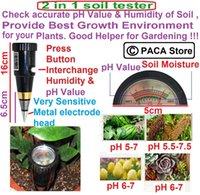 Wholesale Portable High Precision Garden Plant Soil PH Meter Moisture Tester Sensor Perfect Good Helper No need to use battery