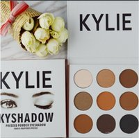 Wholesale Kylie Cosmetics Bronze Eyeshadow Jenner Kyshadow Pressed Powder Kit Palette Bronze Preorder New Makeup colors Long lasting Matte