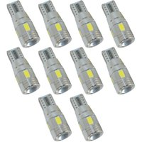 Wholesale 10X Canbus T10 SMD LED no error SMD W5W White Red Blue Yellow Green DC V