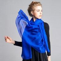 Wholesale 2016 fashion popular spring summer autumn pure silk scarf female Silk Scarf Shawl sun beach towel