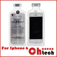 alcohol cases - For iphone Luxury absolute Vodka alcohol Wine Bottle Hyper II Lecithin Transparent Clear cover TPU Phone Case For Iphone s plus