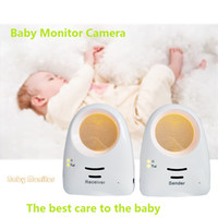 baby cry sounds - 2016 G Wireless Cute Electronic Baby sound monitor Night light hypnosis music player Monitor the baby crying for Baby room