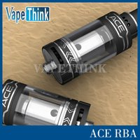 ace customer - ceramic coil OBS ACE airflow tank sub ohm RBA tank with side filling cheapest price cost for all level customers obs