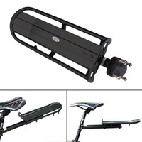 Wholesale Aluminum Alloy MTB Bike Bicycle Rack Carrier Panniers Bag Carrier Adjustable Rear Seat Luggage Cycling Shelf Bracket BHU2