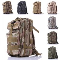 basketball tube bag - Free DHL Color Multi Function Outdoor Sports Camo Tactical Backpack With Water Bag Sleeve And Tube Slot For Hunting Camping E593E