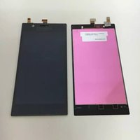 Cheap free shipping 100% tested brand new For lenovo k900 lcd display screen For Lenovo K900 smartphone Touch Digitizer black