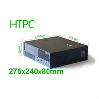 Wholesale HTPC case Mini ITX mm U power supply mm Steel case of family multimedia computer CEMO