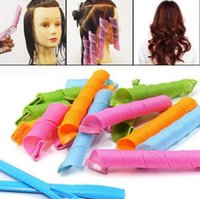 bendy rollers - 2016 DIY Amazing Magic Leverag Hair Curlers Curlformers Hair Roller Hair Styling cm long Tools DHL Free