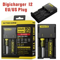 aa battery headlamp - Nitecore Rechargeable Battery Charger i2 for AA AAA Battery Charger Headlamp Headlight