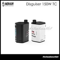 battery big - Movkin Disguiser W TC Mod W O Battery Box Mod OLED Screen Hiding Tank Design Big Window Let Air flows In Mod Original