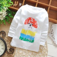 age tshirts - Baby Toddler Kids Tshirts Cotton Bear Print Long Sleeve Winter Bottoming Shirts for Height cm Age M Kids