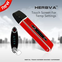 Wholesale Dry herb vape pen Airis Herbva Kit mAh E Cigarettes touch screen Supply from Factory Directly