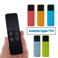 Wholesale 2Pcs Silicone Protective Case Cover Dust Cover For Apple TV Remote Control Holder