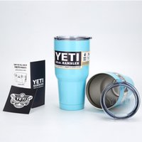 Wholesale YETI OZ Double Staight Dody Car Cup Large Top Quality Capacity Stainless Steel Mug Cup For Car Classic Cheap China Car Cups