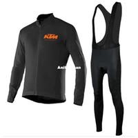 2016 KTM cycling jersey long bike wear bicycle cycling clothing bicycle  cycling tight mtb size XS-4XL black bib set long sleeves ccdbcc498