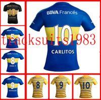 argentina league - 16 Boca Jerseys Juniors Shirt camisas de futebol Riquelme Gago Gigliotti Wholesalers Argentina league rugby