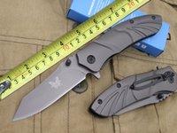 best folder knife - Gift Knife Benchmade Folding Knife Cr13MOV Blade Full Steel Handle Outdoor Folder Knives Best Christmas Gift F306E