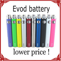 Wholesale sp EVOD Battery mAh mAh mAh electronic cigarette battery Electronic Cigarette e cig Battery EVOD Battery for MT3 CE4 atomizer