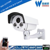 Wholesale Outdoor Waterproof H Full HD MP MP IR Night Vision POE Power IP Bullet Camera ONVIF