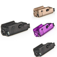 airsoft mini - Tactical High Lumen XC1 MINI Pistol Light Military Airsoft Hunting Flashlight Used In GLOCK DE BK Purple