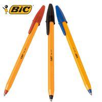 bic ballpoint pen blue - France BIC orange classic ball point pen