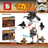 best walking machine - SY503 Star Wars Walking Machine KyloRen Assault Robot Minifigures Building Block Minifigure Toys Best Legoelieds Toys