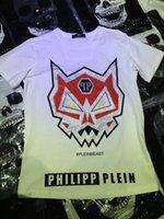 Wholesale 2016 COOL PHILIPP MEN S STONE SKULL T SHIRT SHORT SLEEVE MODEL Tshirts Homme Black Size M L XL XXL