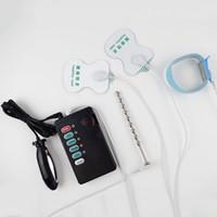 Wholesale Electro Penis Bands Adult Electrosex Gear Electric Prostata Massage Steel Urethral Plug Anal Plug
