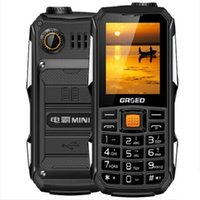 Wholesale GRSED e6800 Dustproof Wear resisting Multi function Functional mobile phone Shockproof SOS mAh Battery SOS Long Standby Power Bank torch