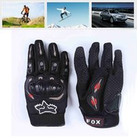 Wholesale 60pcs Fashion New Full Finger Motorcycle Gloves Motocross Luvas Guantes Moto Protective Gears High Quality Glove For Men ZA0291